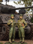 Alpine Miniatures -  US 3rd Armored Division Set