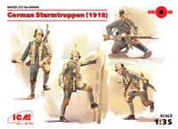 ICM Models - WWI German Sturmtruppen, 1918