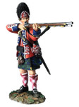 Wm. Britain: Clash of Empires: British 42nd Royal Highland Grenadier, Standing Firing No.1