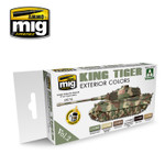 Ammo of MIG King Tiger Exterior Colors ( Special Takom Ed.) Vol. 2