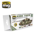 Ammo of MIG King Tiger Exterior Colors ( Special Takom Ed.) Vol. 2