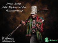 MJ Miniatures British Army, 24th Regiment of Foot