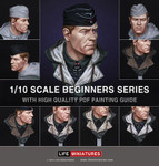 Life Miniatures: Beginners Series 1 - WW2 German Panzer Commander