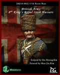 MJ Miniatures - 8th King's Royal Irish Hussars Bust
