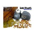 Green Stuff World Miniature Leaf Punch GREY - 4 Types of Leaves