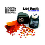 Green Stuff World Miniature Leaf Punch DARK GREEN - Linden