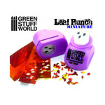 Green Stuff World Miniature Leaf Punch LIGHT PURPLE - Oak Leaves