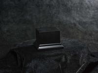 Andrea Miniatures - Noble Wood Base - Black Lacquer 5