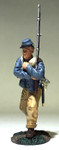 Wm. Britain: American Civil War: Confederate Infantry Advancing at Support No. 1