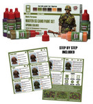 Andrea Miniatures - Waffen SS Camo Paint Set (spring colors)