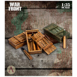 Scale 75 - German Supplies - Ammo Boxes and Ammunition 2 75mm Panther