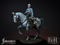 FeR Miniatures: Faherenheit Miniature Project - General Robert E. Lee, 1865