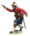 Wm. Britain - 42nd Highland Company Officer Firing Pistol