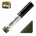 Ammo of MIG Oilbrusher - Dark Green