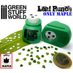 Green Stuff Word Miniature Leaf Punch MEDIUM GREEN - Maple