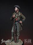 FeR Miniatures: Faherenheit Miniature Project - 15th Georgia Volunteer Infantry, Gettysburg, 1863
