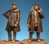 Model Cellar - WWI British Pilot and Lewis Gunner