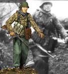 """Alpine Miniatures - SS NCO, """"KG Hansen"""" #1"""
