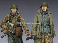 """Alpine Miniatures - """"KG Hansen, Poteau"""" Set #2"""