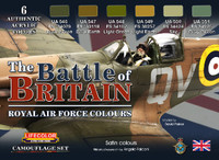 Lifecolor - The Battle of Britain Royal Air Force Colors Acrylic Set