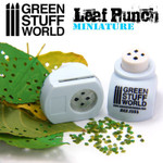 Green Stuff World Miniature Leaf Punch - Lt. Blue - Linden