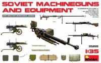 Miniart Models - Soviet Machine Guns & Equipment