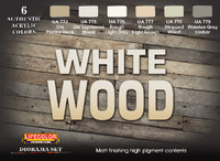 Lifecolor - White Wood Diorama Acrylic Set