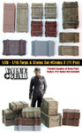 Value Gear Details - 1/20 - 1/16 Wooden Crates Set #2 11 Pieces