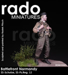 "Rado Miniatures - 12th SS Panzer Division, ""HJ"", Summer 1944 - #1 SALE"