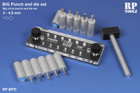 RP Toolz - Big Punch and Die Set 2 - 4.5mm