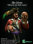 "MJ Miniatures Pirate - ""So what do you think?"""