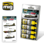 Ammo of MIG - USAAF WWII Aircraft Color Paint Set