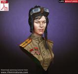 Life Miniatures: Beginners Series 3 - Soviet Female Tanker, WWII