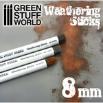 "Green Stuff World - Weathering Brushes 8mm (approx. .3"")"