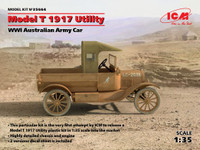 ICM Models - WWI Australian Model T 1917 Utility Army Car