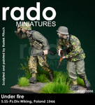 Rado Miniatures - Under fire, 5.SS-Pz.Div. Wiking, Poland 1944 #1 & #2 Set