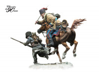 Andrea Miniatures: Classics in 90mm - Cossack Attack! 1812