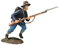 Wm. Britain: American Civil War: Iron Brigade Charging No.2