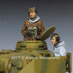 Alpine Miniatures - WSS Panzer Crew, Winter Set