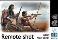 Masterbox Models - Remote Shot, Indian Warriors Kneeling w/Rifles