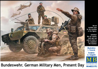 Masterbox Models - Bundeswehr German Military Men, Present Day