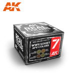 AK Interactive: Real Colors - WWII Soviet AFV Color Set