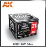 AK Interactive: Real Color - NATO Color Set