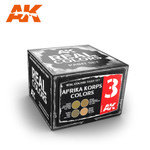AK Interactive: Real Color - Afrika Korps Color Set