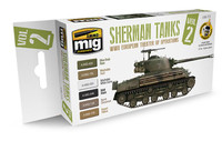 Ammo of MiG - WWII European Theater of Operations Sherman Tanks