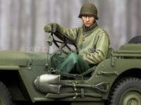 Alpine Miniatures - WW2 US Jeep Driver