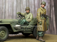 Alpine Miniatures - WW2 US NCO & Driver Set