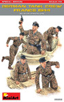 Miniart Models - WWII German Tank Crew France 1944  w/Weapons & Equipment (Special Edition)