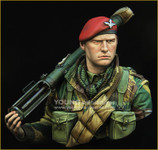 Young Miniatures - British Airborne with PIAT WWII - YM1871
