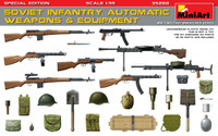Miniart Models - Soviet Infantry Automatic Weapons & Equipment (Special Edition)